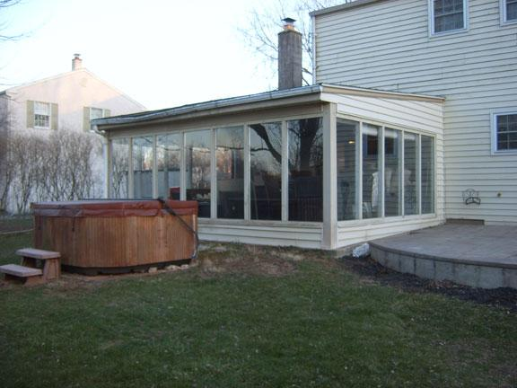 Wonderful This Sunroom In Lansdale, PA Was Definitely In Need Of A Remodel Job. The Flat  Roof, Bent Gutters And Inefficient Windows Made This Sunroom Less Than A ...