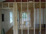 Interior framing by Drumm Design Remodeling