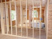 Framing prior to insulation