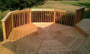 Our craftsmanship shows through in this deck detail