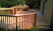 The finished deck after Drumm Design Remodel