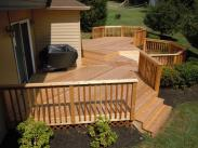 This deck has a terrific herringbone pattern