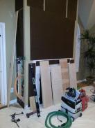 Drumm Design Remodel prepares to build storage cabinet inserts