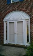 The new door installed by Drumm Design Remodel