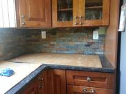 Fabulous new kitchen backsplash installed by Drumm Design Remodel
