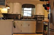 This dark, small kitchen needed a facelift badly and more importantly it needed to be made more functional for a growing family