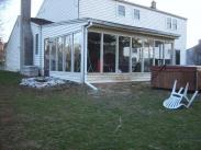 This sunroom in Lansdale, PA had seen better days for sure, time for Drumm Design Remodel