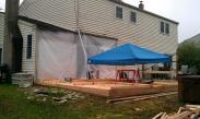 Drumm Design Remodel works hard no matter what the weather is like