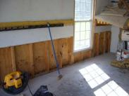 The repairs by Drumm Design Remodel begin