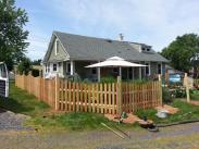 Drumm Design Remodel installing the fencing