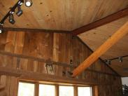 Before Drumm Design Remodel this ceiling was sagging due to a weak support beam