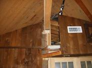 Upon opening up this addition, Drumm Design Remodel needed to stabilize the existing support beam
