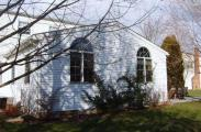 A view of the back side of this addition in Blue Bell PA, featuring the new arched windows