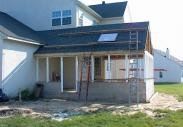 Drumm Design Remodel completes framing and adds the roof