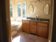 A spectacular new master bathroom with soaking tub