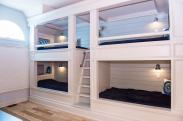 A cool set of built in bunks like this can be in your home with Drumm Design Remodel